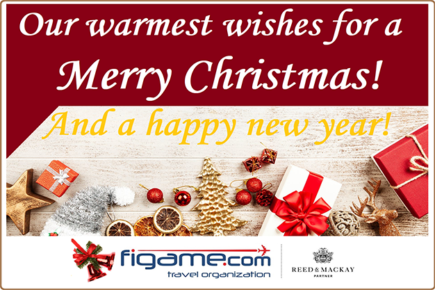 a merry christmas card from figame